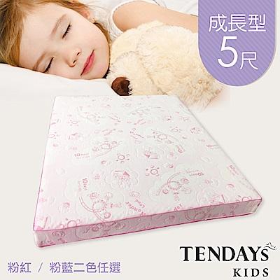 【TENDAYs】成長型兒童健康床墊<b>5</b>尺標準雙人(15cm厚記憶床 兩色可選)