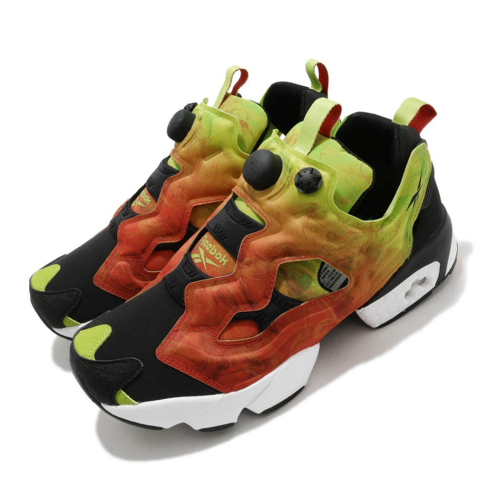 Reebok 休閒鞋 Instapump Fury OG 男鞋 經典款 充氣科技 舒適 穿搭 漸層色 黑 紅 FV1576