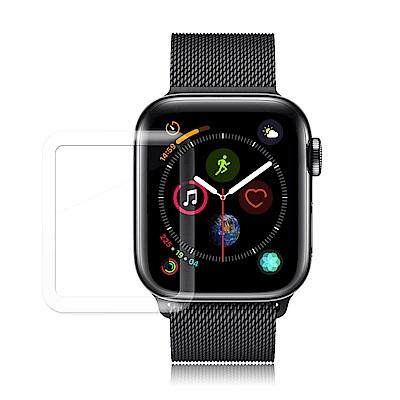 GLA Apple Watch Series 4 40mm全膠曲面滿版疏水玻璃貼