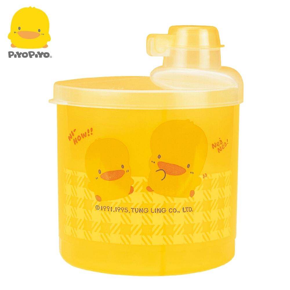 【任選】黃色小鴨《PiyoPiyo》半透明四格奶粉罐(大)