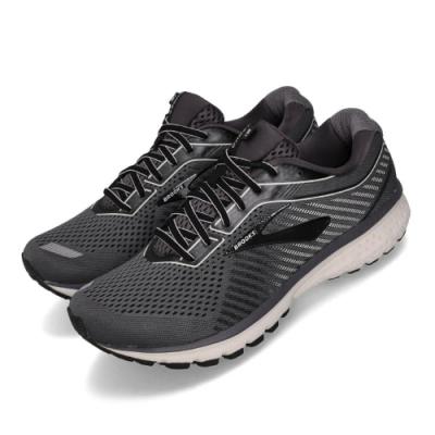 Brooks 慢跑鞋 Ghost 12 2E 寬楦 運動 男鞋