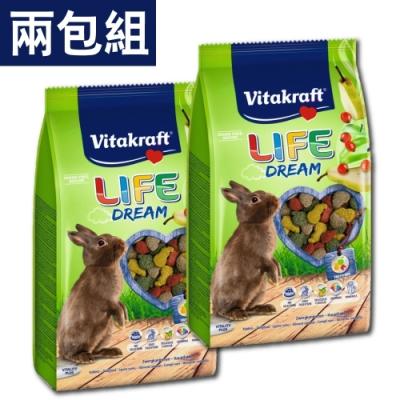 德國Vitakraft - 夢幻兔飼料 1.8kg/ 包-兩包組(兔飼料)