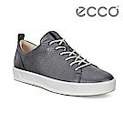 ECCO SOFT 8 LADIES 簡約休閒鞋 女-金屬灰