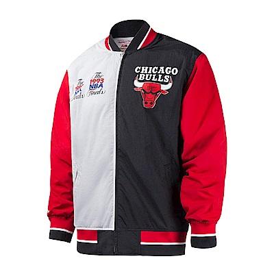 M&N NBA復古經典熱身外套 公牛隊