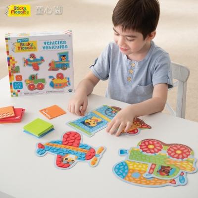 Sticky Mosaics 馬賽克拼貼-交通工具(3Y+)