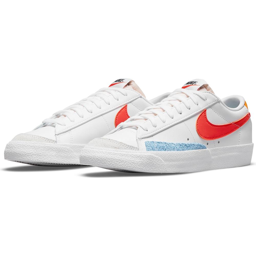 NIKE 耐吉 休閒鞋 運動鞋 女鞋 白紅 DC4769-105 W BLAZER LOW 77
