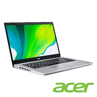 (升級8G,雙碟)Acer A514-54G-5752 14吋筆電(I5-1135G7/MX350/8G+4G/1TB HDD+256G SSD/銀/特仕版)