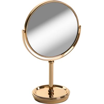《VERSA》雙面高腳桌鏡(香檳金)