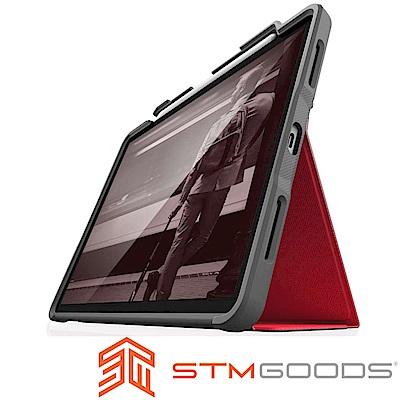 澳洲 STM Dux Plus iPad Pro 11 吋專用軍規防摔平板保護殼 - 紅