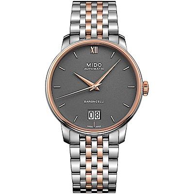 MIDO美度BARONCELLI永恆系列III經典機械腕錶(M0274262208800)