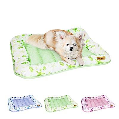 YSS 玉石冰雪纖維散熱冷涼感寵物床墊/睡墊M(3色)