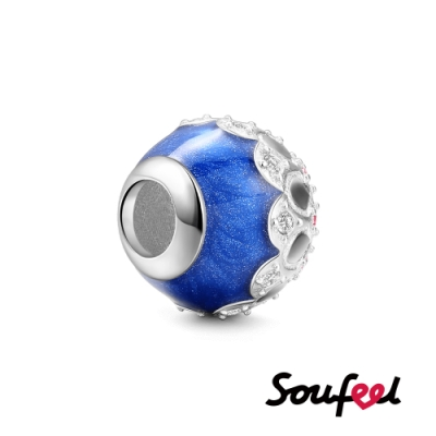 SOUFEEL索菲爾 925純銀珠飾 仰望星空 串珠