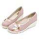 PLAYBOY GOPLAY 走不累增高娃娃鞋-粉-Y678599 product thumbnail 1