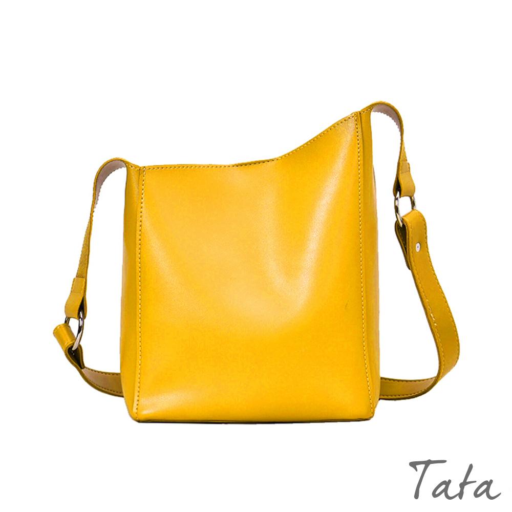 斜邊磁扣單肩包 TATA