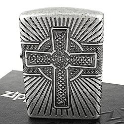 ZIPPO 美系 Celtic Cross-凱爾特十字圖案設計打火機