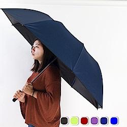 雙龍TDN 大王傘 超撥水降溫晴雨自動傘-海軍藍