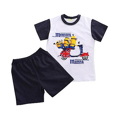 小小兵精梳純棉短袖套裝 k50575 魔法Baby