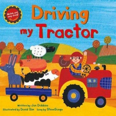 Driving My Tractor 開著拖拉車工作去平裝繪本(CD一入)