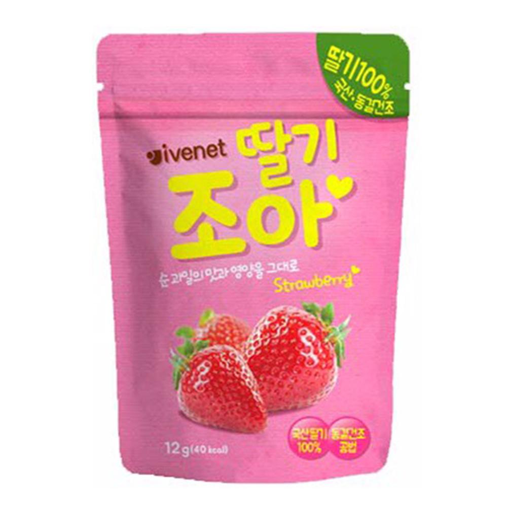 (即期品) 韓國 ivenet 艾唯倪 草莓粒 (天然水果乾)