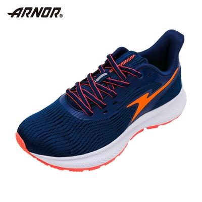 【ARNOR】阿諾-避震慢跑鞋/中大童鞋 厚底 緩震 運動 海軍藍(ARKR18126)