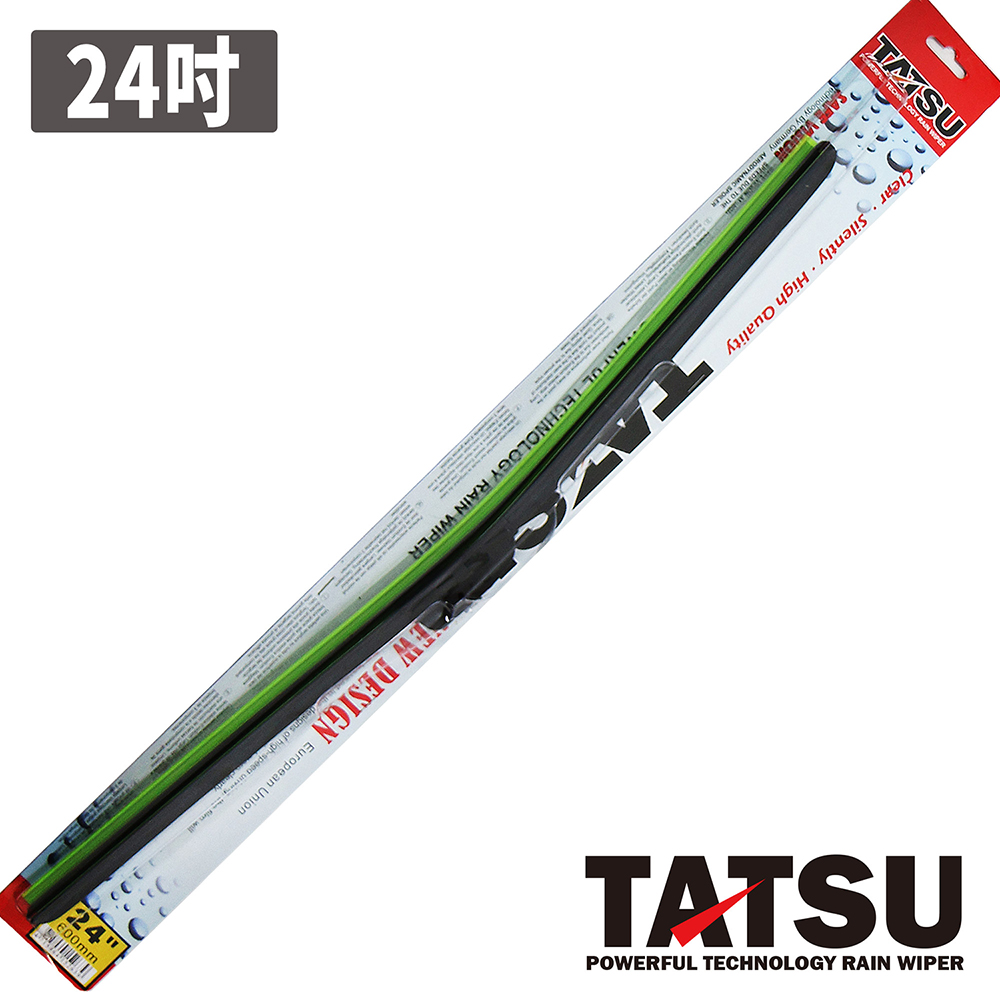 TATSU 特仕軟骨雨刷 24吋