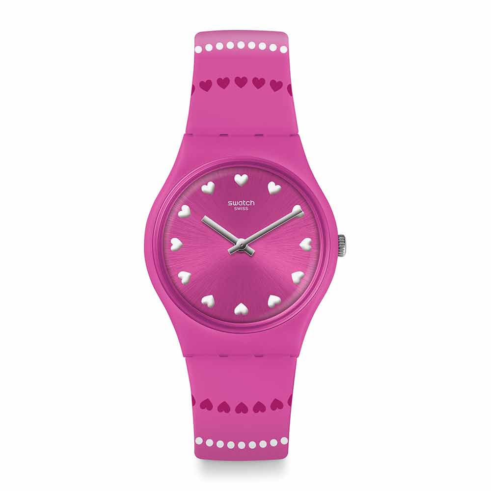 Swatch  Love is in the Air系列COEUR DE MANÈGE