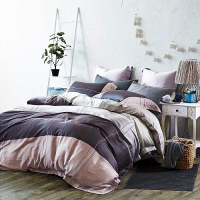Saint Rose頂級精緻100%天絲床罩八件組(包覆高度35CM)-純品 加大