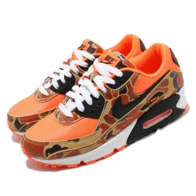Nike 休閒鞋 Air Max 90 SP 運動 男女鞋 迷彩 經典款 氣墊 舒適 避震 情侶穿搭 橘 棕 CW4039800