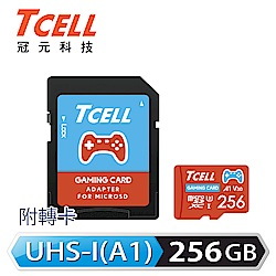 TCELL冠元 MicroSDXC UHS-I (A1)U3 256GB 遊戲專用記憶卡