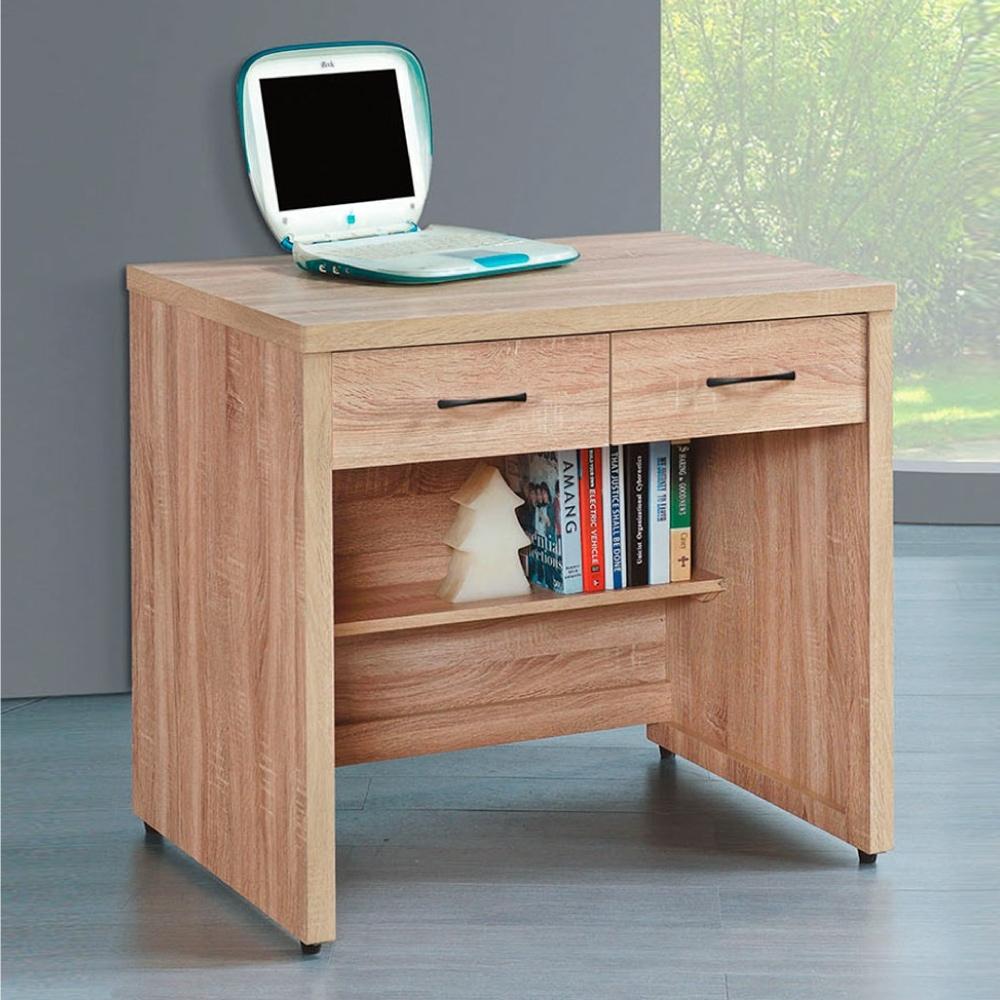 Bernice-橡木2.7尺書桌-82×60.5×81cm