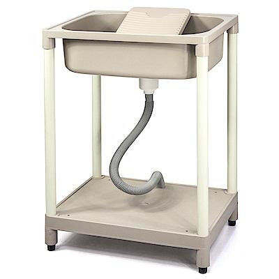 Aaronation 新型單槽塑鋼洗衣槽 GU-A1011