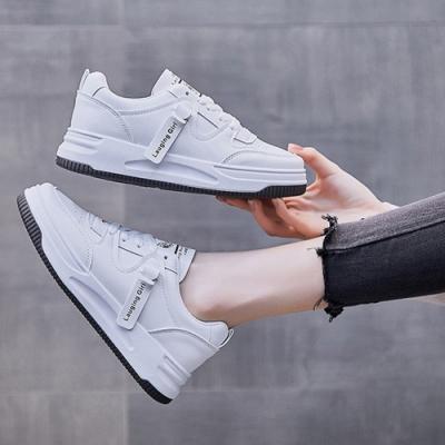 LN 現+預 韓版織帶百搭小白鞋(小白鞋/休閒鞋)