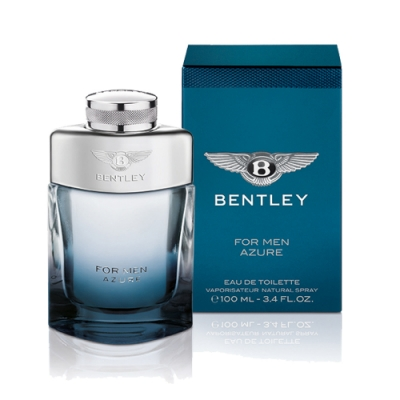BENTLEY賓利 FOR MEN AZURE 藍天男性淡香水100ml