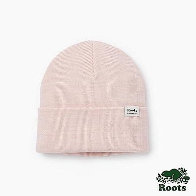 Roots-配件- 布雷斯針織帽-粉