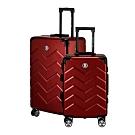 BENTLEY 26吋+20吋 PC+ABS 商務鋁合金拉桿輕量行李箱 二件組-紅
