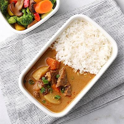 花蓮家咖哩 南洋咖哩料理包-板腱牛肉( 260 gx 4 包)