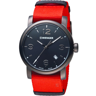WENGER Urban 挑戰巔峰時尚腕錶(60.1041.132)41mm