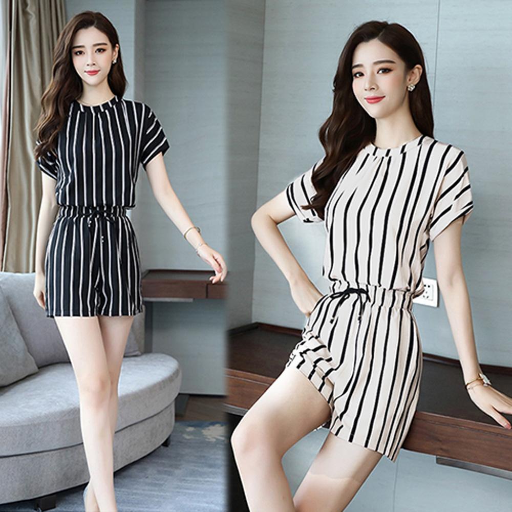 【韓國K.W.】獨家款皇后直線套裝-2色