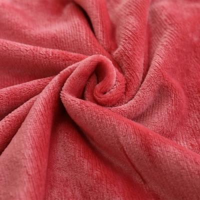岱思夢 素色法蘭絨兩用毯被套 雙人6x7尺 玩色主義 胭脂粉