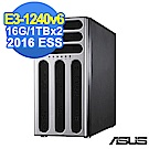 (無卡分期-12期) ASUS TS300-E9 16G/1TBx2/2016ESS