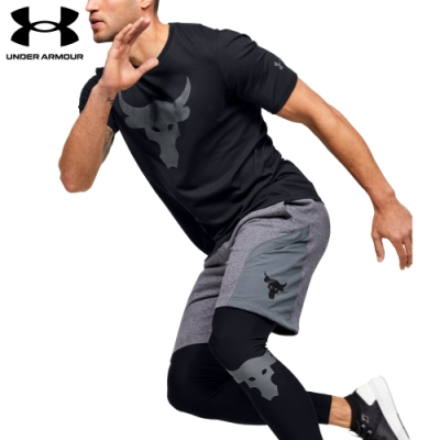 【UNDER ARMOUR】男 Project Rock短T-Shirt