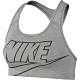 NIKE 運動內衣 中度支撐 瑜珈 慢跑 健身 女款 灰 BV3644084 product thumbnail 1