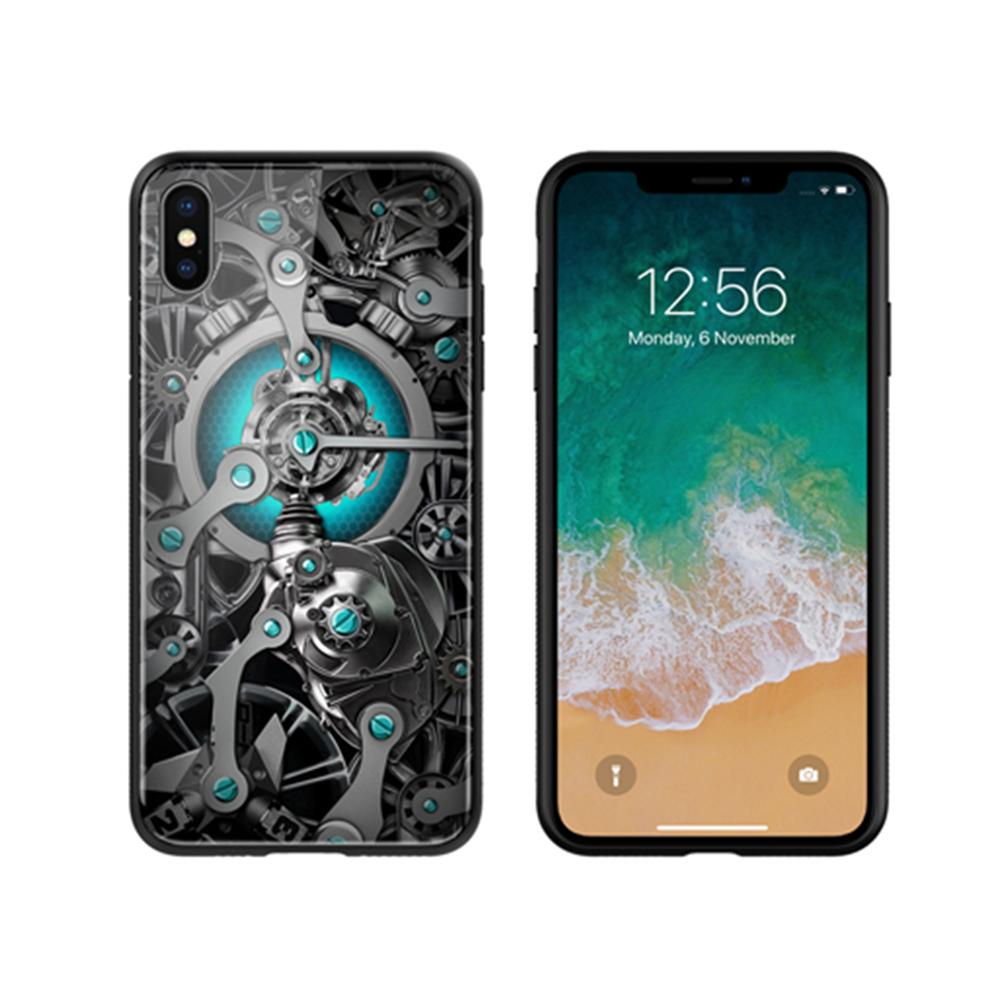 NILLKIN Apple iPhone Xs/X 時空玻璃手機殼