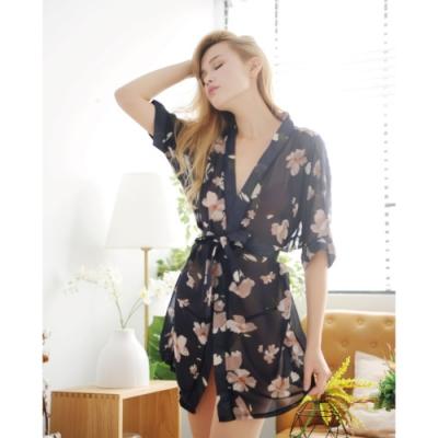 愛愛屋 單身貴族優雅罩衫(2色選)