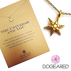 Dogeared 許願星 wishing star 心想事成 金項鍊 附原