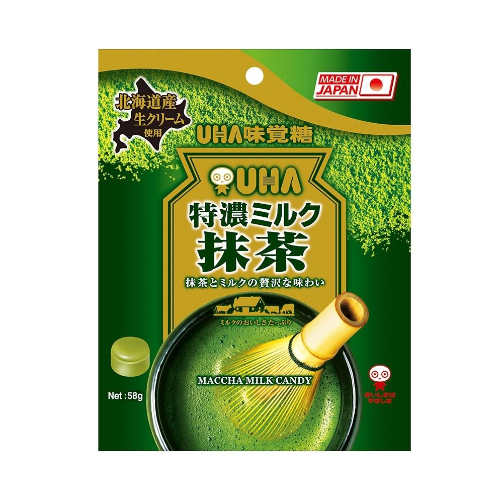 味覺糖 特濃牛奶糖-抹茶味(58g)