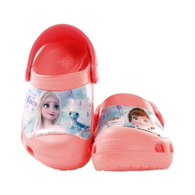 台灣製迪士尼冰雪奇緣輕便晴雨休閒鞋 sa04712 魔法Baby