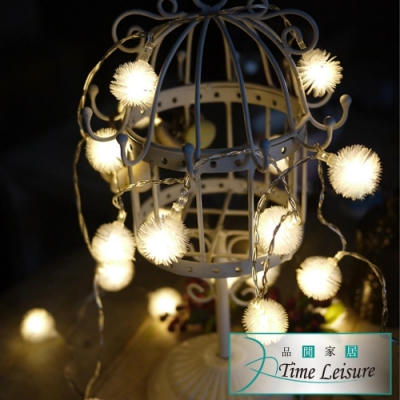 Time Leisure LED派對佈置/耶誕聖誕燈飾燈串(蒲公英/暖白/2.5M)