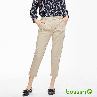 bossini女裝-彈性修身褲08深褐