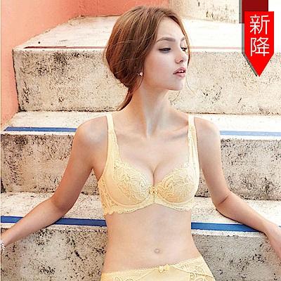 曼黛瑪璉 包覆提托Hibra大波內衣  C-D罩杯(黃色系)